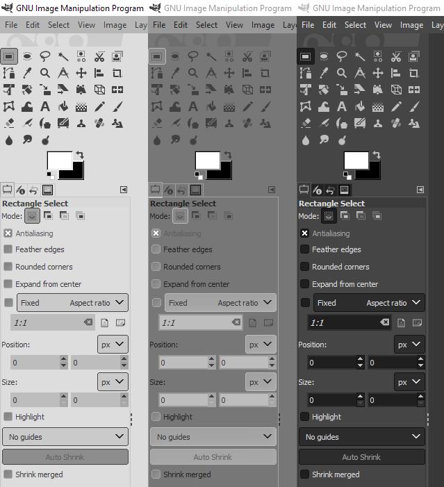 GIMP Themes
