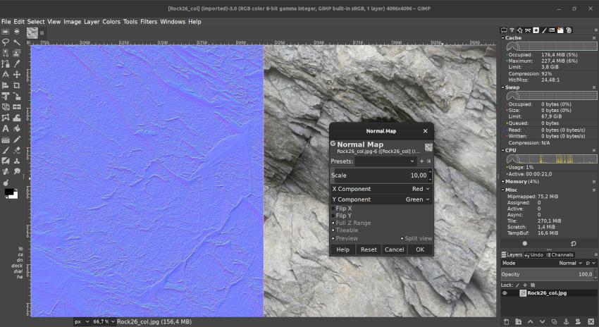 Normal Map filter