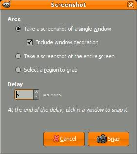 Screenshot plug-in