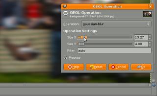 Experimental GEGL tool screenshot