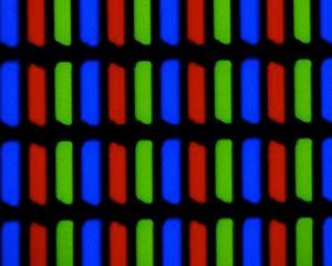 TN LCD Display 300X close up