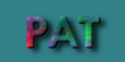 GIMP floating logo example