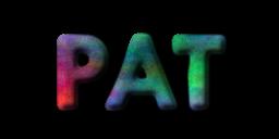 GIMP example floating logo no background transparent